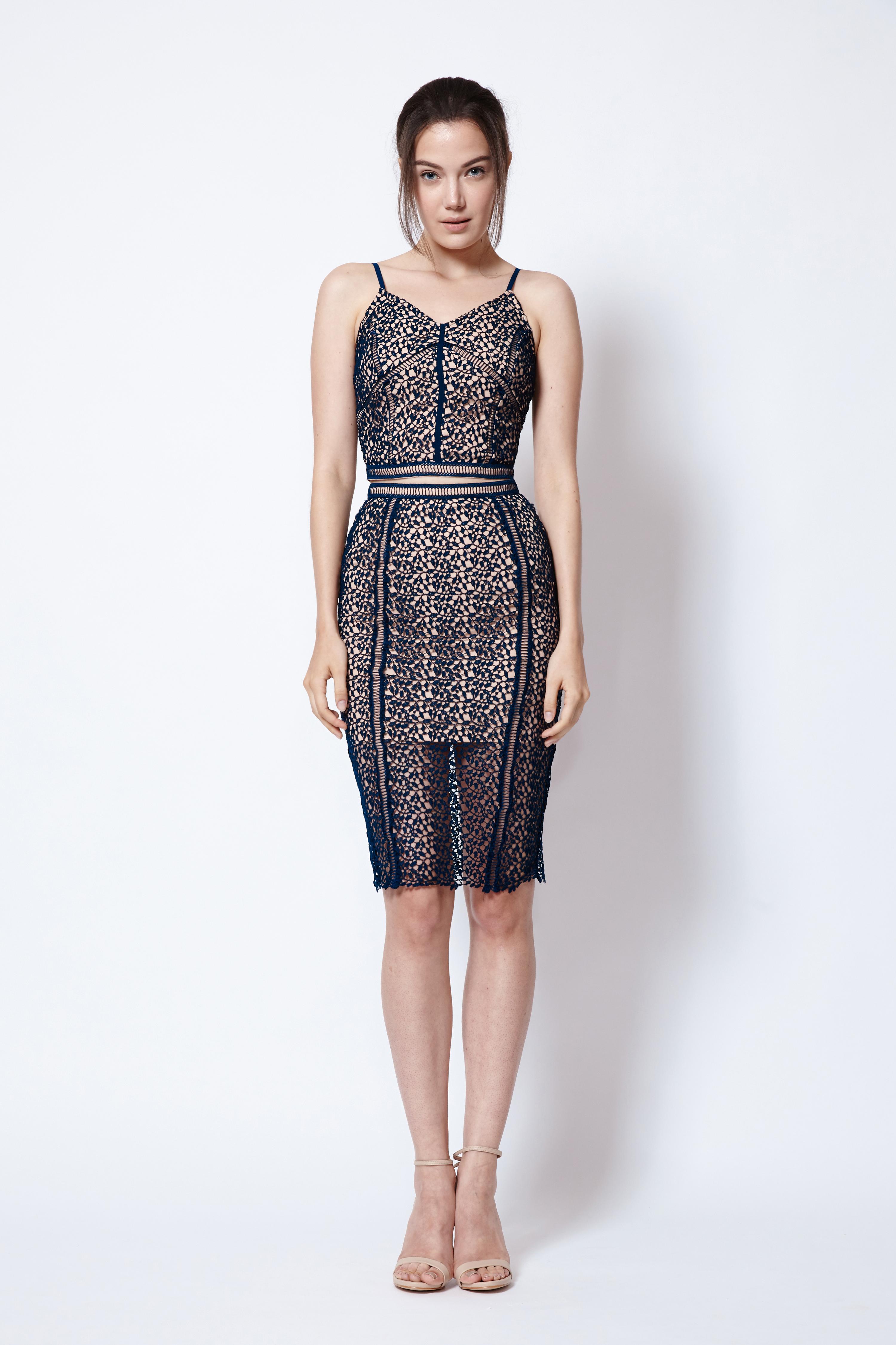68ce7845d ... Chiara Fitted Midi Skirt in Midnight Blue. Share: Pinterest Tweet  Facebook Tumbler