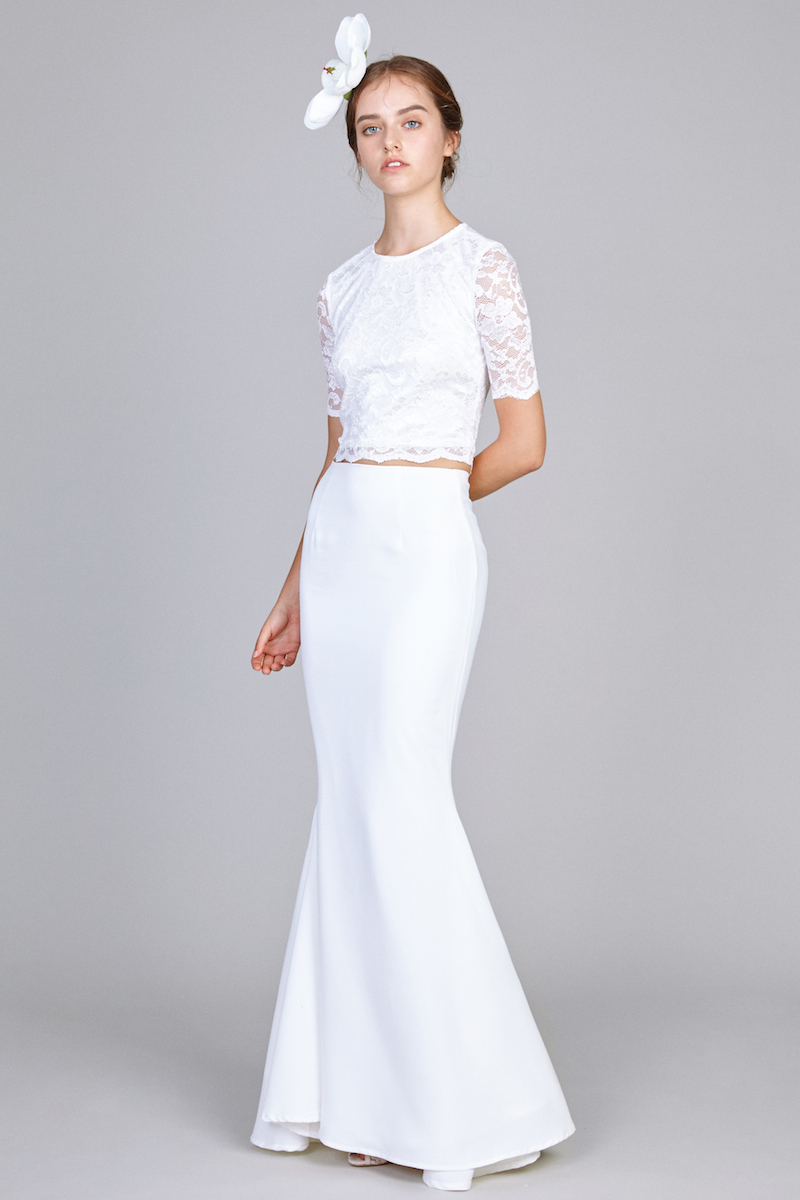 Blythe Maxi Skirt In White Vaingloriousyou